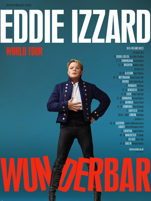 Eddie Izzard at Beacon Theater