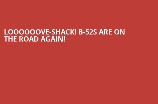 The B-52s at Irving Pl...B 52s Band