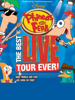 Disney Live! Phineas and Ferb at Kraine Theater