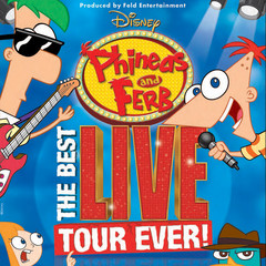 Disney Live Phineas And Ferb At Theater At Madison Square Garden At Madison Square Garden New