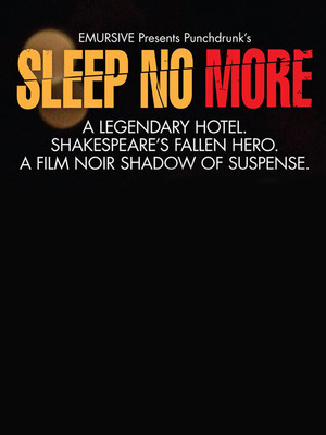 Sleep No More at Mckittrick Hotel
