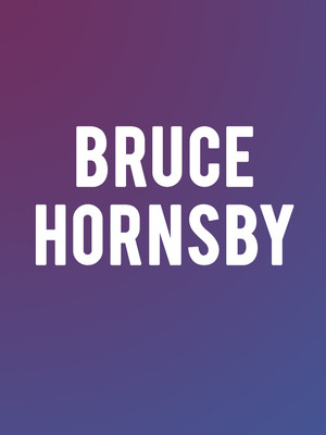 Bruce Hornsby And The Noisemakers at New York City Winery
