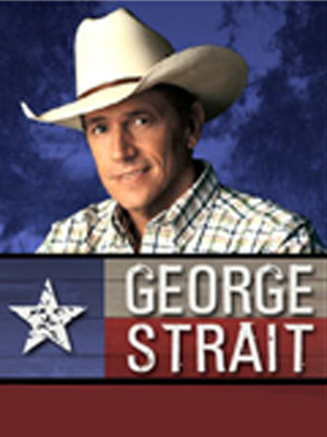 George Strait  at Prudential Center
