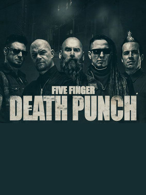 Five Finger Death Punch at Best Buy Theater
