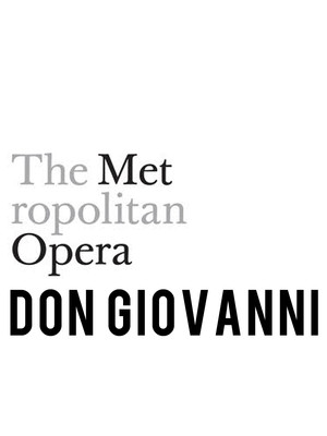 Don Giovanni at Metropolitan Opera House