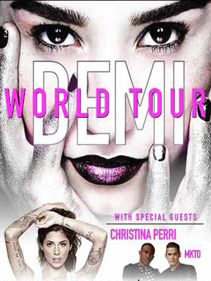 Demi Lovato, Christina Perri & MKTO at Prudential Center