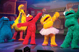 Theater at madison square garden at madison square garden - Sesame street madison square garden ...