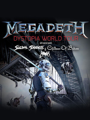 Megadeth at Best Buy Theater