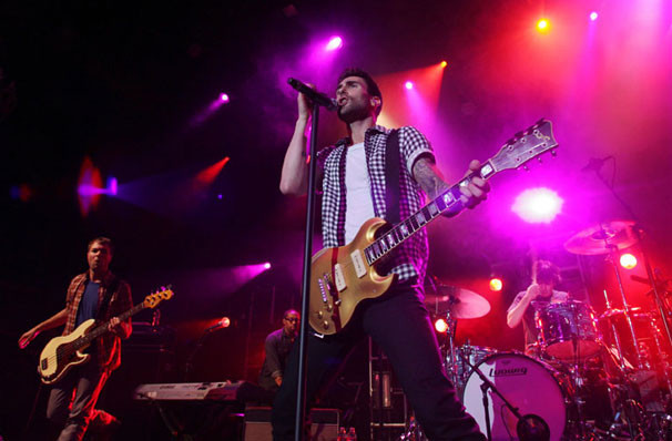 Maroon 5 neon trees owl city at madison square garden - Bruno mars tickets madison square garden ...