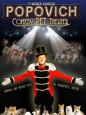 Gregory Popovich Comedy Pet Theater at NYCB Theatre at Westbury