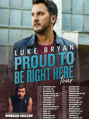 Luke Bryan at 13th Street Repertory Theater