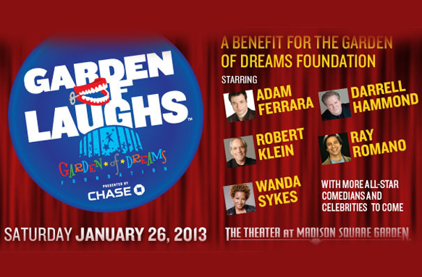 Garden Of Laughs Adam Ferrara Darrell Hammond Ray Romano At Theater At Madison Square Garden