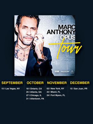 Marc Anthony at Prudential Center