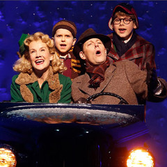 A Christmas Story At Theater At Madison Square Garden At Madison Square Garden New York Ny