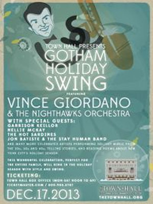 Gotham Holiday Swing at Town Hall Theater