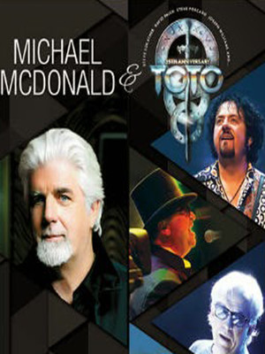 Michael McDonald & Toto at Bergen Performing Arts Center