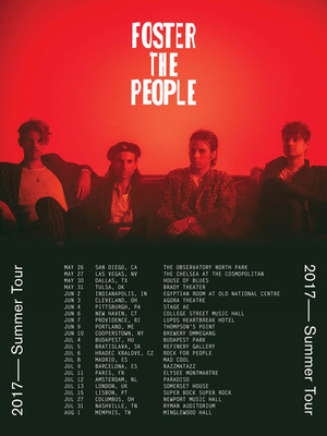 Foster the People at United Palace Theater