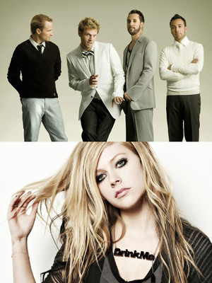 Backstreet Boys & Avril Lavigne at Nikon