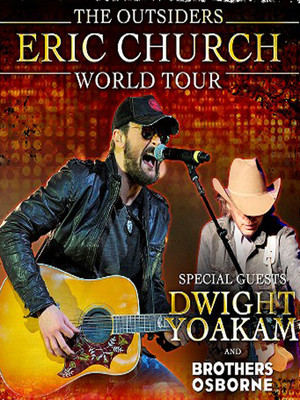 Eric Church & Dwight Yoakam at Madison Square Garden