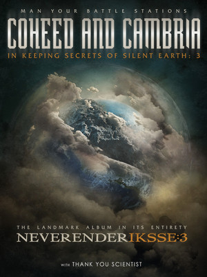 Coheed and Cambria & Thank You Scientist at Hammerstein Ballroom