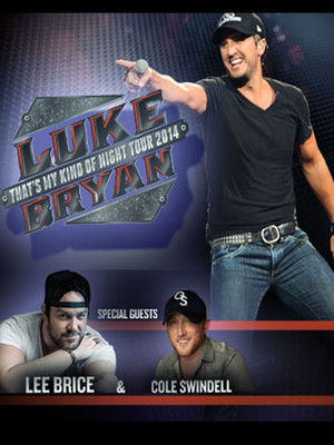 Luke Bryan, Lee Brice & Cole Swindell at Madison Square Garden