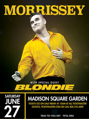 Morrissey blondie at madison square garden new york ny - Paul mccartney madison square garden tickets ...