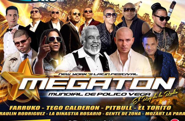 Madison Square Garden: Megaton Mundial De Polito Vega: Tono Rosario, Los Hermanos