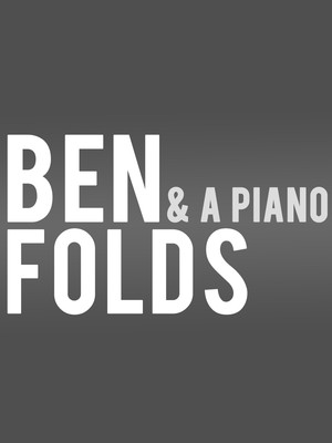 Ben Folds at Count Basie Theatre