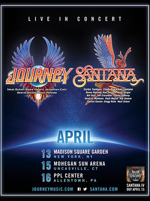 Journey santana at madison square garden new york ny - Paul mccartney madison square garden tickets ...