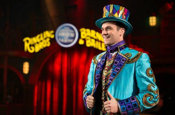Ringling Bros And Barnum Bailey Circus At Barclays Center Brooklyn Ny Tickets Information