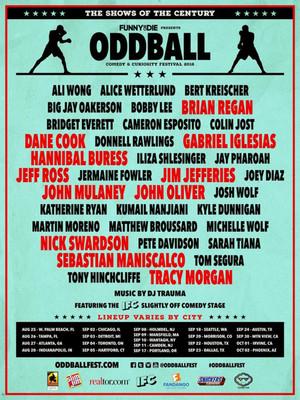 Oddball Tour Lineup