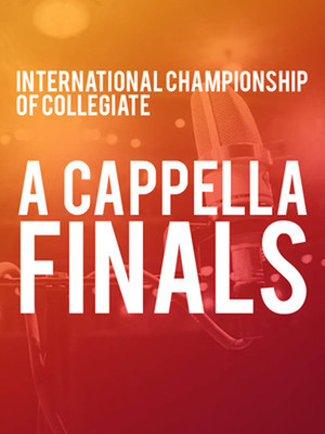 International Championship of Collegiate A Cappella Finals at Isaac Stern Auditorium