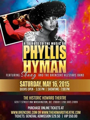 A Tribute to the Music of Phyllis Hyman at Actors Temple Theater