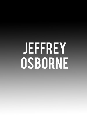 Jeffrey Osborne at B.B. King Blues Club