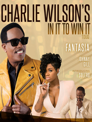 Charlie Wilson with Fantasia, Johnny Gill and Solero at Barclays Center