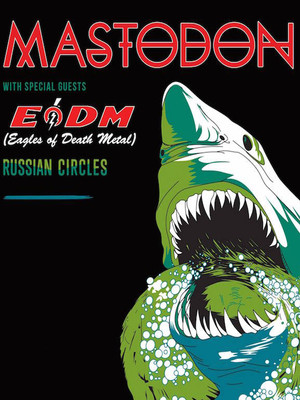 Mastodon with Eagles of Death Metal at Hammerstein Ballroom