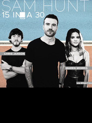 Sam Hunt With Maren Morris at Madison Square Garden