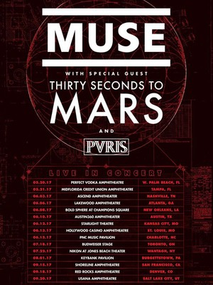 Muse with 30 Seconds to Mars at Northwell Health