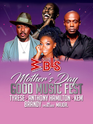 Mother's Day Music Fest feat. Tyrese, Kem, Brandy and Anthony Hamilton at Barclays Center