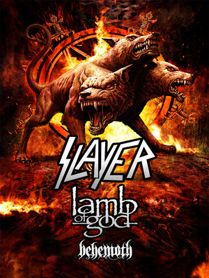 Slayer with Lamb of God at Theater at Madison Square Garden