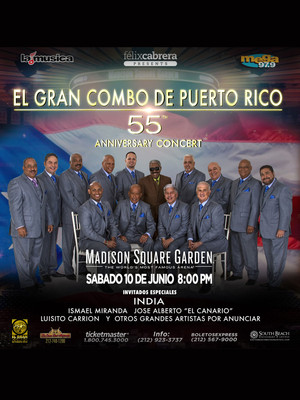 El gran combo at madison square garden new york ny - Paul mccartney madison square garden tickets ...