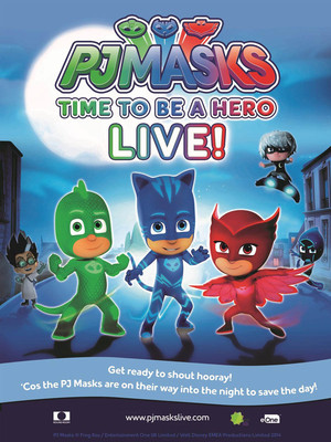 PJ Masks Live! Time To Be A Hero at Theater at Madison Square Garden
