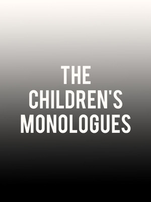 The Children's Monologues at Isaac Stern Auditorium