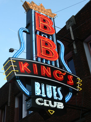 at B.B. King Blues Club
