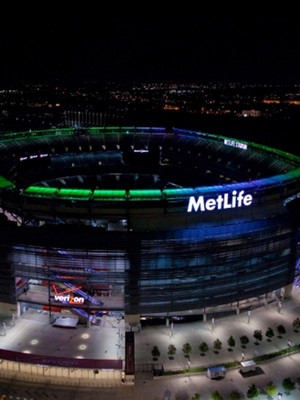 at MetLife Stadium