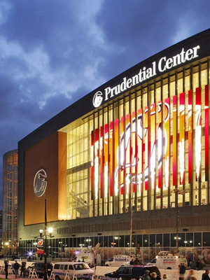 at Prudential Center